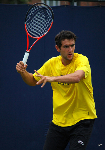 Cilic comeback from two sets down